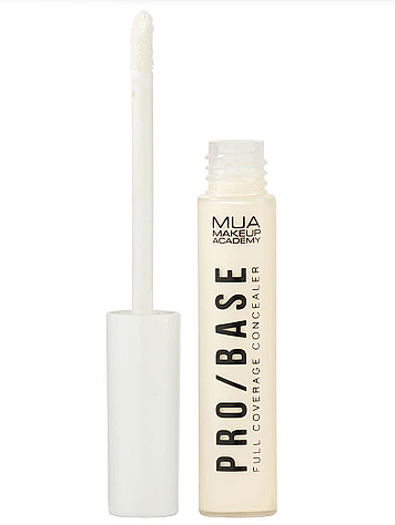 Corrector de maquillaje líquido - MUA Pro/Base Full Coverage Concealer