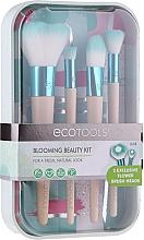 Perfumería y cosmética Kit brochas de maquillaje de madera de bambú - EcoTools Blooming Beauty Kit