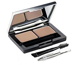 Perfumería y cosmética Kit para definición de cejas con cepillo, pinzas y espejo - L'Oreal Paris Brow Artist Genius Kit