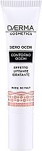 Perfumería y cosmética Sérum para contorno de ojos efecto lifting con cafeína y ácido hialurónico - Daerma Cosmetics Eye Contour Serum