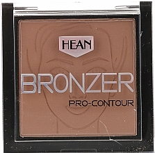 Perfumería y cosmética Polvo bronceador facial - Hean Pro-contour Bronzer