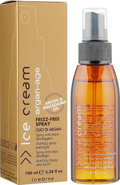 Spray antiencrespamiento con aceite de argán y macadamia - Inebrya Argan Age Frizz-Free Spray