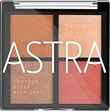 Perfumería y cosmética Paleta de maquillaje para contorno facial - Astra Make-up The Romance Palette