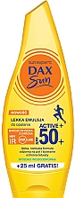 Perfumería y cosmética Emulsión corporal de protección solar resistente al agua - Dax Sun Light Emulsion Active+ SPF50