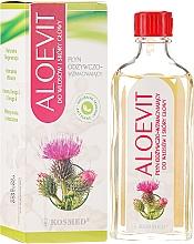 Perfumería y cosmética Líquido natural para cuero cabelludo con aloe, omaga 3 y vitaminas - Kosmed Aloevit Nourishing & Strengthening