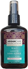 Perfumería y cosmética Sérum antiencrespamiento con argán y karité - Arganicare Shea Butter 10 in 1 Leave-In Hair Repair Anti-Frizz