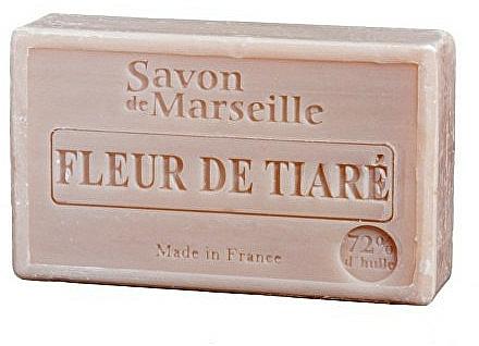 Jabón artesanal con aroma a gardenia - Le Chatelard 1802 Flowers Tiara Soap