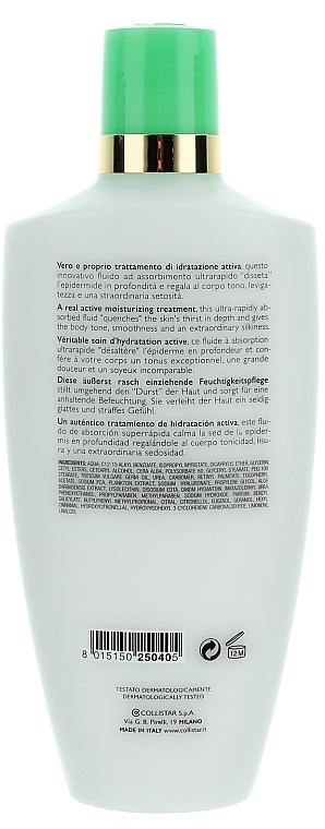 Fluido corporal hidratante con extracto de aloe vera y urea - Collistar Deep Moisturizing Fluid — imagen N2