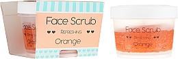 Perfumería y cosmética Exfoliante facial y labial con aceite de jojoba - Nacomi Refreshing Face Orange