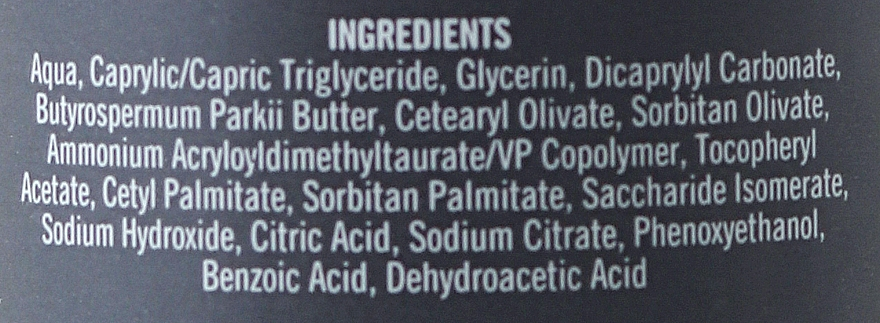 Crema facial nutritiva con aloe vera, manteca de karité y vitamina E - Derma Man Face Cream — imagen N3
