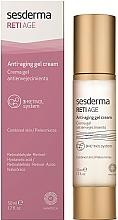 Perfumería y cosmética Crema gel facial antiedad con retinol y ácido hialurónico - SesDerma Laboratories RetiAge Anti-aging Gel Cream