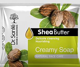 Perfumería y cosmética Crema-jabón facial limpiadora con manteca de karité - Dr.Sante Cream Soap