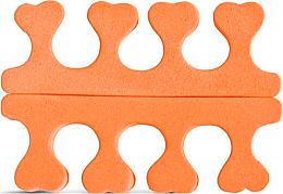 Perfumería y cosmética Separadores para pedicura 2562, naranja - Donegal