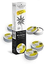 Perfumería y cosmética Petits JouJoux Mini A Trip To Waikiki - Set de velas de masaje, aroma a piña colada (vela/5x43ml)