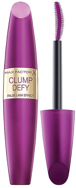 Máscara de pestañas, efecto pestañas postizas - Max Factor Clump Defy Mascara