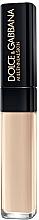 Perfumería y cosmética Corrector de maquillaje de larga duración, fórmula sin aceite - Dolce&Gabbana Millenialskin On The Glow Longwear Concealer