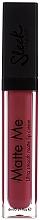 Perfumería y cosmética Barra de labios cremosa con efecto mate - Sleek MakeUP Matte Me Lip Lip Cream