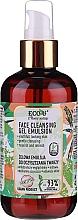 Perfumería y cosmética Emulsión gel facial con extracto de espinaca y pepino - Eco U Face Cleansing Gel Emulsion