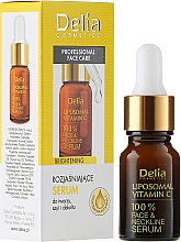 Perfumería y cosmética Sérum para rostro, cuello y escote con vitamina C - Delia Liposomal Vitamin C 100% Face Neckline Serum Anti Wrinkle Treatment