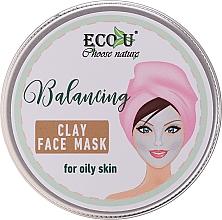 Perfumería y cosmética Mascarilla facial equilibrante con arcilla - Eco U Balancing Clay Face Mask For Oily Skin
