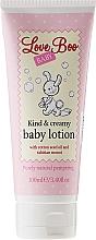 Perfumería y cosmética Crema corporal con aceite de semilla de algodón y monoi - Love Boo Baby Kind & Creamy Baby Lotion