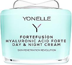 Perfumería y cosmética Crema facial con ácido hialurónico - Yonelle Fortefusion Hyaluronic Acid Forte Day & Night Cream
