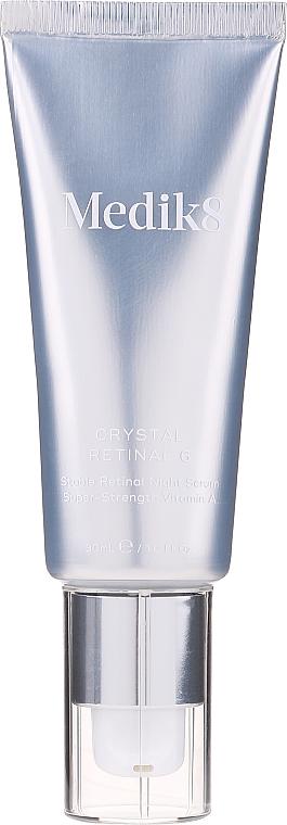 Sérum facial con 0,06% retinaldehído y ácido hialurónico, aroma a vainilla - Medik8 Retinal Crystal