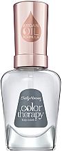 Perfumería y cosmética Top coat con aceite de argán - Sally Hansen Color Therapy Top Coat