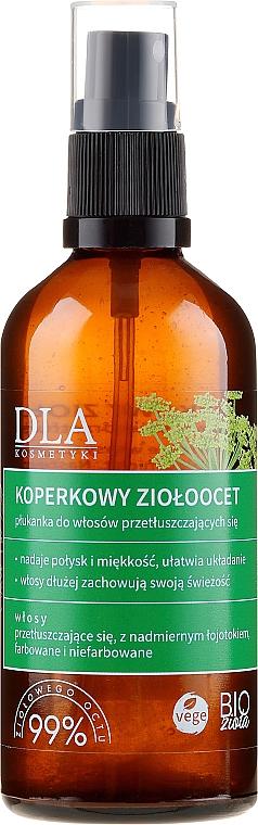 Spray para cabello graso con extracto de hierbas y eneldo - DLA