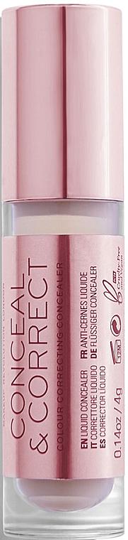 Corrector facial líquido - Makeup Revolution Conceal And Correct