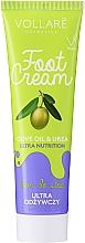 Perfumería y cosmética Crema nutritiva de pies con urea y aceite de oliva - Vollare Cosmetics De Luxe Ultra Nutrition Oile&Urea Foot Cream