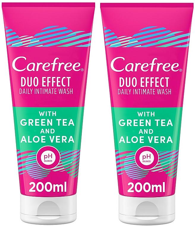 Carefree Aloe Vera Intimate Gel - Set gel de higiene íntima (gel/2x200ml)