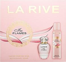 Perfumería y cosmética La Rive In Flames - Set (eau de parfum/90ml + desodorante/150ml)