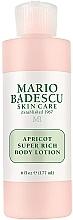Perfumería y cosmética Loción corporal perfumada - Mario Badescu Apricot Super Rich Body Lotion