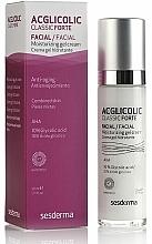 Perfumería y cosmética Crema facial con extracto de alga roja, vitaminas C y E - SesDerma Laboratories Acglicolic Classic Forte Moisturizing Gel Cream