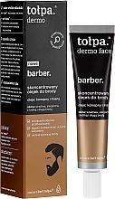 Perfumería y cosmética Bálsamo de barba concentrado con aceite de cáñamo y lino - Tolpa Dermo Men Barber Oil