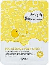 Perfumería y cosmética Mascarilla facial de tejido con extracto de yema de huevo - Esfolio Pure Skin Egg Essence Mask Sheet