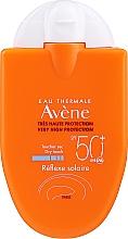 Perfumería y cosmética Crema protectora solar para piel sensible, sin parabenos - Avene Solaires Cream Reflexe SPF 50+