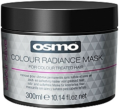 Perfumería y cosmética Mascarilla capilar protectora del color con extracto de rosa - Osmo Colour Save Colour Radiance Mask