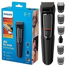 Perfumería y cosmética Cortapelos, cara y cabello 7 en 1 - Philips MG3720