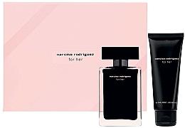 Perfumería y cosmética Narciso Rodriguez For Her - Set (eau de toilette/50ml + loción corporal/75ml)