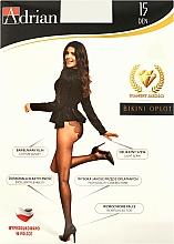 Perfumería y cosmética Pantis Bikini Oplot, 15 Den, negro - Adrian