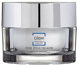 Perfumería y cosmética Crema facial reparadora a base de colágeno con extracto de papaya y semilla de uva - Fontana Contarini iQ Repair Collagen Face Cream