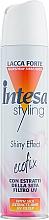 Perfumería y cosmética Laca para cabello efecto iluminador fijación fuerte - Intesa Ecofix Styling Shiny Effect