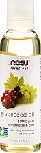 Perfumería y cosmética Aceite corporal de semilla de uva - Now Foods Solutions Grapeseed Oil