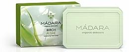 Perfumería y cosmética Jabón natural para rostro con extracto de algas - Madara Cosmetics Birch & Algae Soap