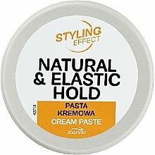 Perfumería y cosmética Pasta de peinado cremosa con extracto de semilla de cáñamo - Joanna Styling Effect Natural & Elactic Hold Cream Paste