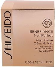 Crema de noche con ácido cítrico - Shiseido Benefiance NutriPerfect Night Cream  — imagen N3