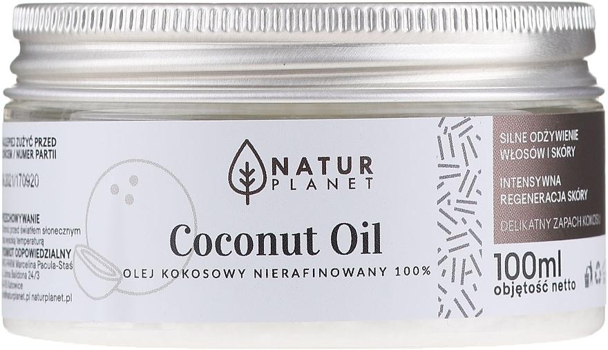 Aceite cosmético de coco 100% sin refinar - Natur Planet Coconut Oil