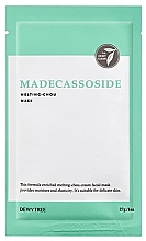 Perfumería y cosmética Mascarilla facial con extracto de centella asiática - Dewytree Madecassoside Melting Chou Mask